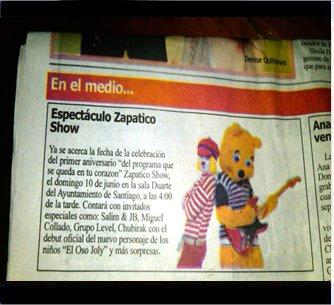 Articulo peri dico la informacion gracias al pediodico for Diario el show del espectaculo